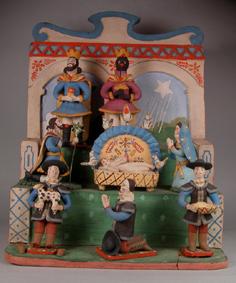 ETNO 7967 Presépio de altar ou trono, séc.XIX-XX